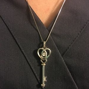 Jewelry - Love's embrace Jared key necklace